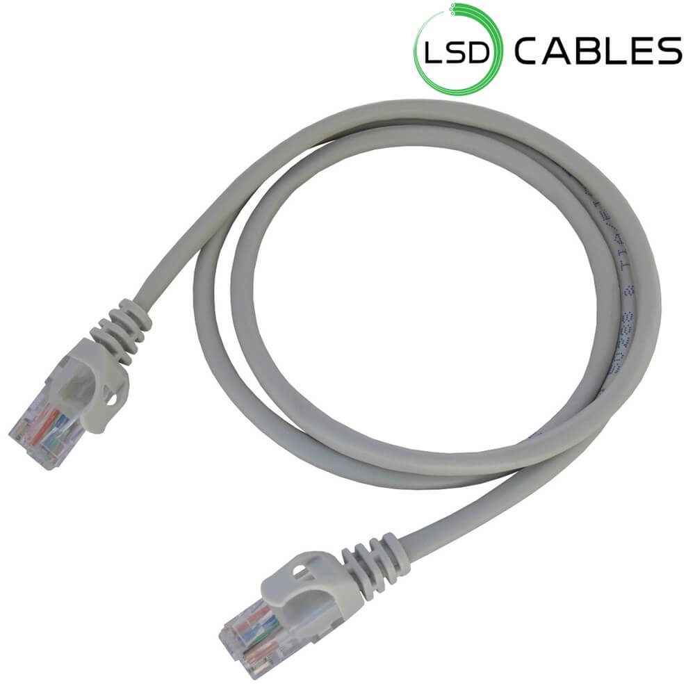 LSD CABLES Cat5e UTP stranded Patch cord cable L P501. - Cat5e UTP Patch cord Cable L-P501