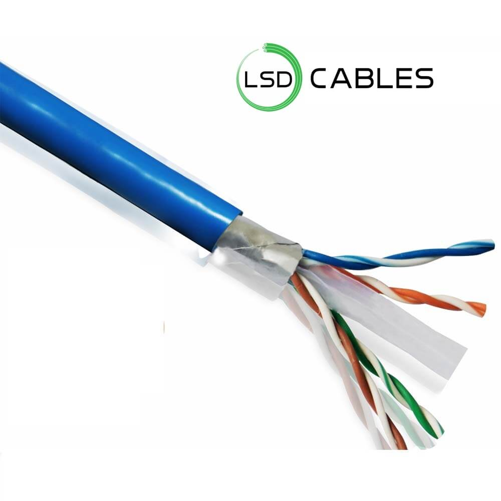 LSD CABLES Cat6 FTP INDOOR Cable 1 - Cat6 SFTP Cable L-603