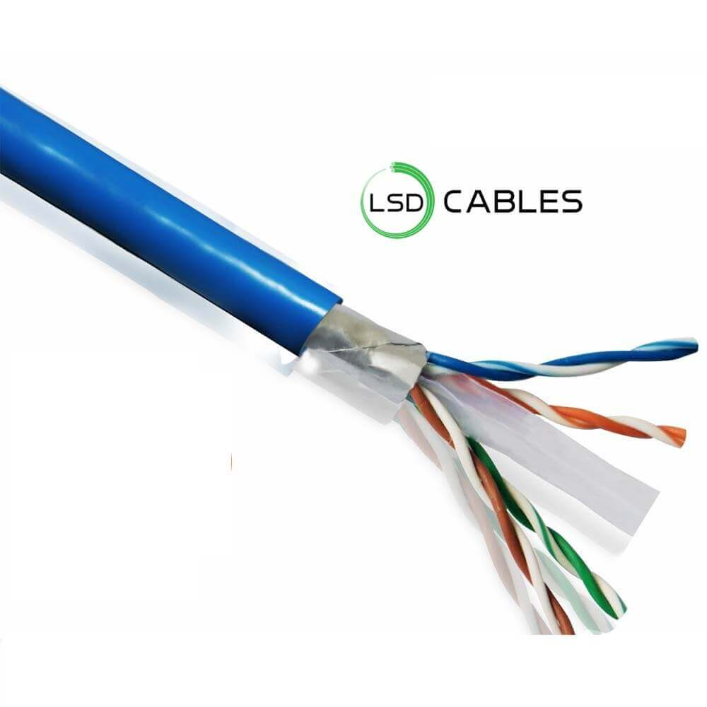 LSD CABLES Cat6 FTP INDOOR Cable - Cat6 FTP Cable L-602