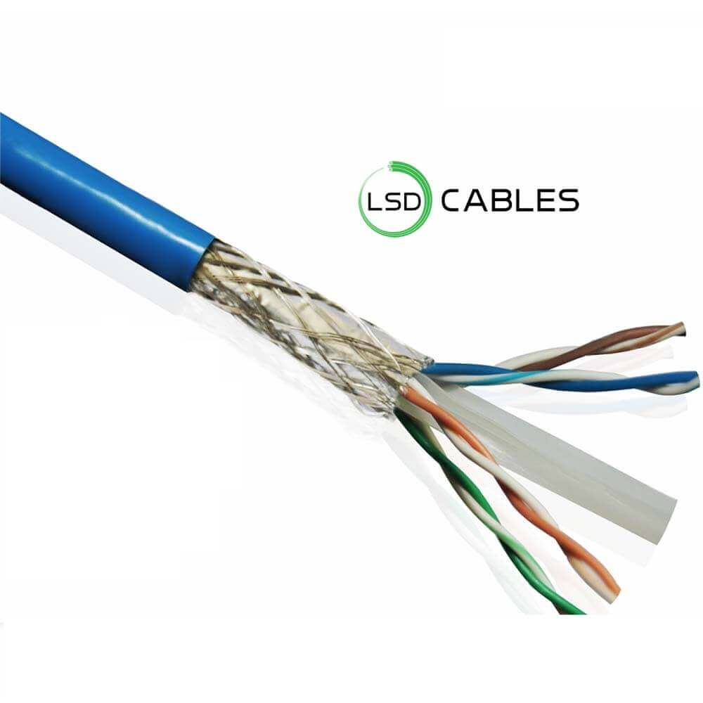 LSD CABLES Cat6 STP INDOOR Cable - Cat6 SFTP Cable L-603