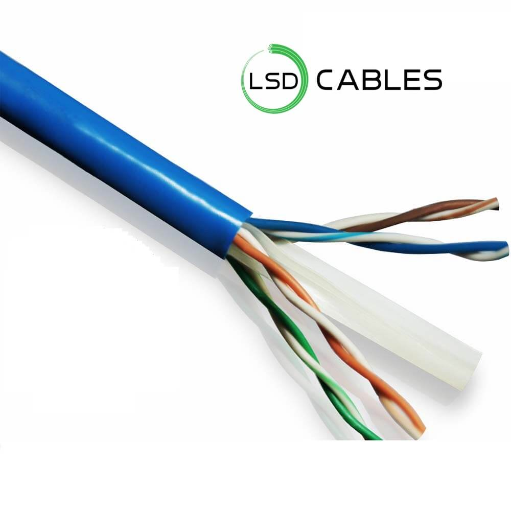 LSD CABLES Cat6 UTP INDOOR Cable 1 - Cat6 UTP Cable L-601
