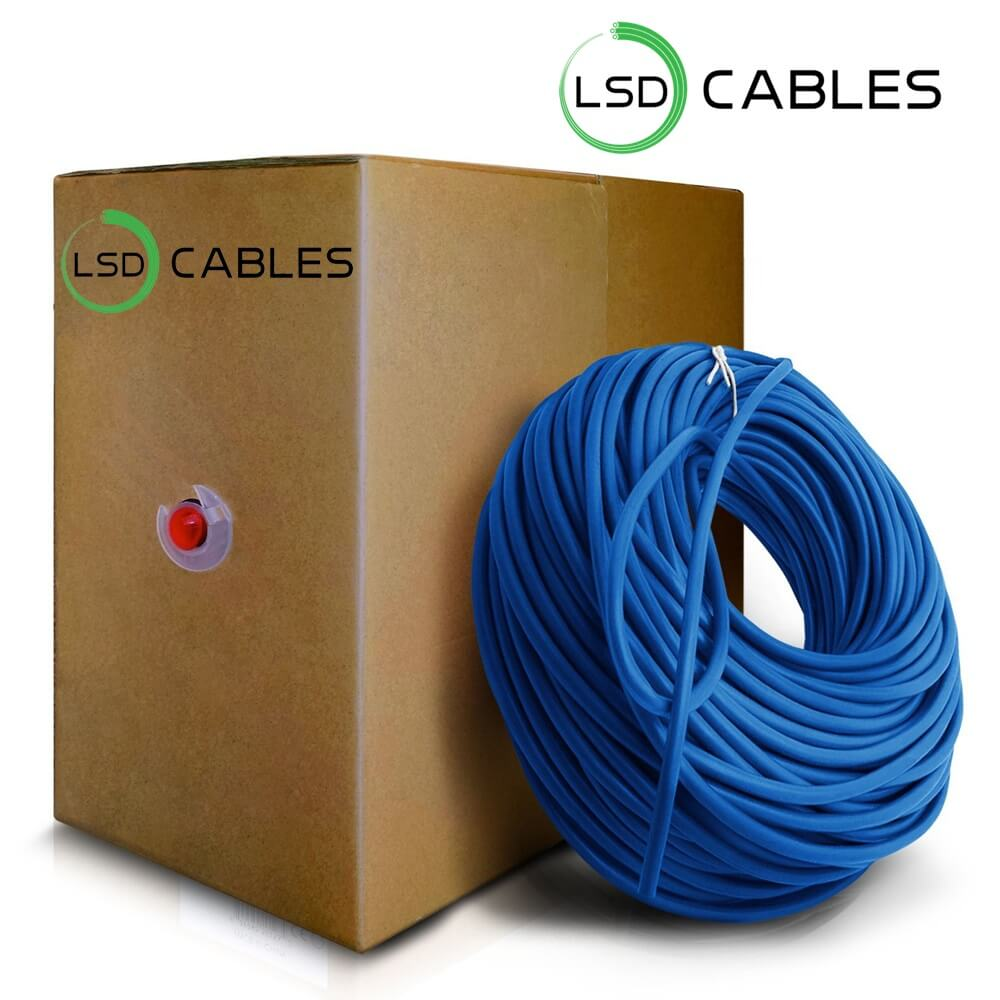 LSD CABLES Cat6 UTP INDOOR Cable box - Cat6 UTP Cable L-601