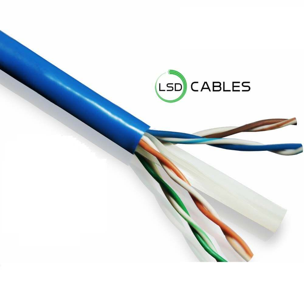 LSD CABLES Cat6 UTP INDOOR Cable - Cat6 UTP Cable L-601
