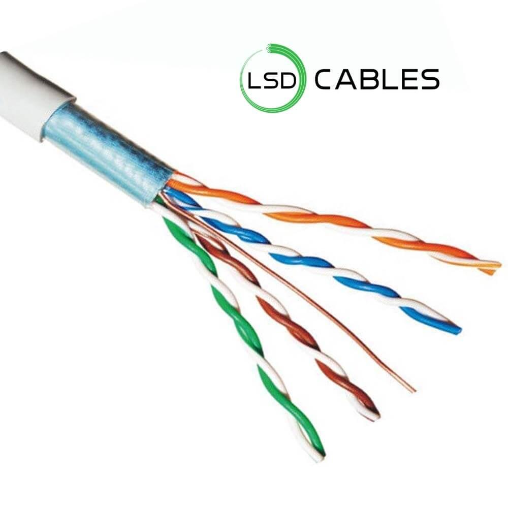 LSD CABLES cat5e FTP cable solid 1 - Cat5e FTP Cable L-502