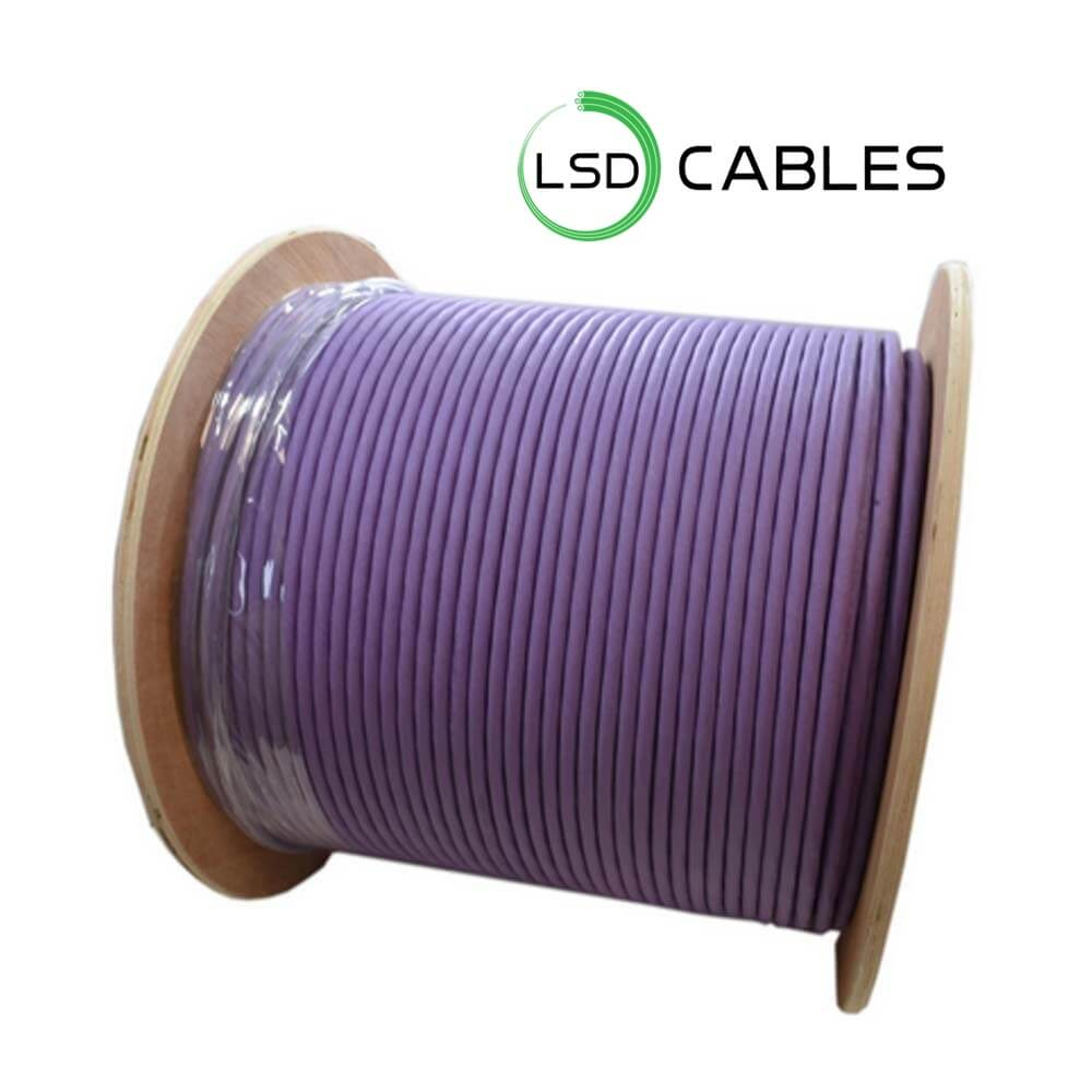 LSDCABELS CAT7 SFTP PACKAGE WOODEN DRUM - Cat7 SSTP Cable L-701