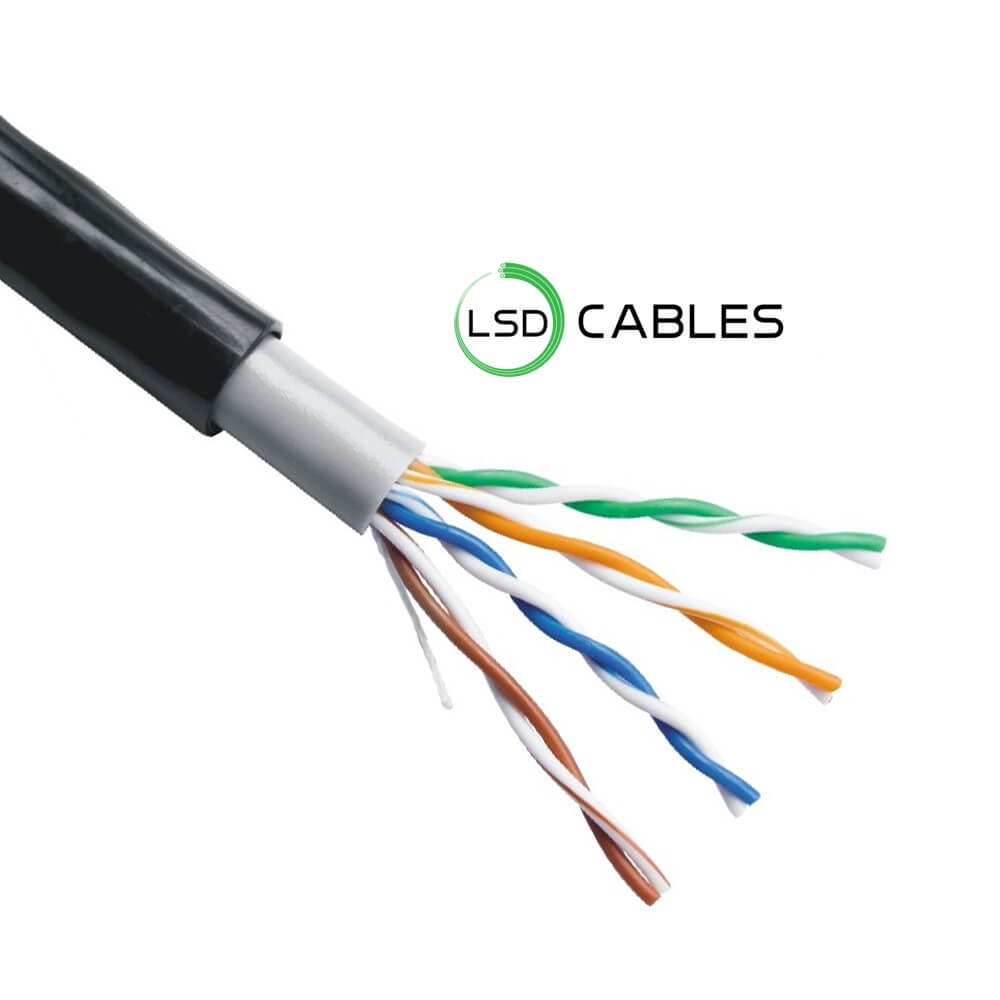 LSDCABLES CAT5E UTP CABLE OUTDOOR L 504 - Cat5e UTP Outdoor Cable L-504