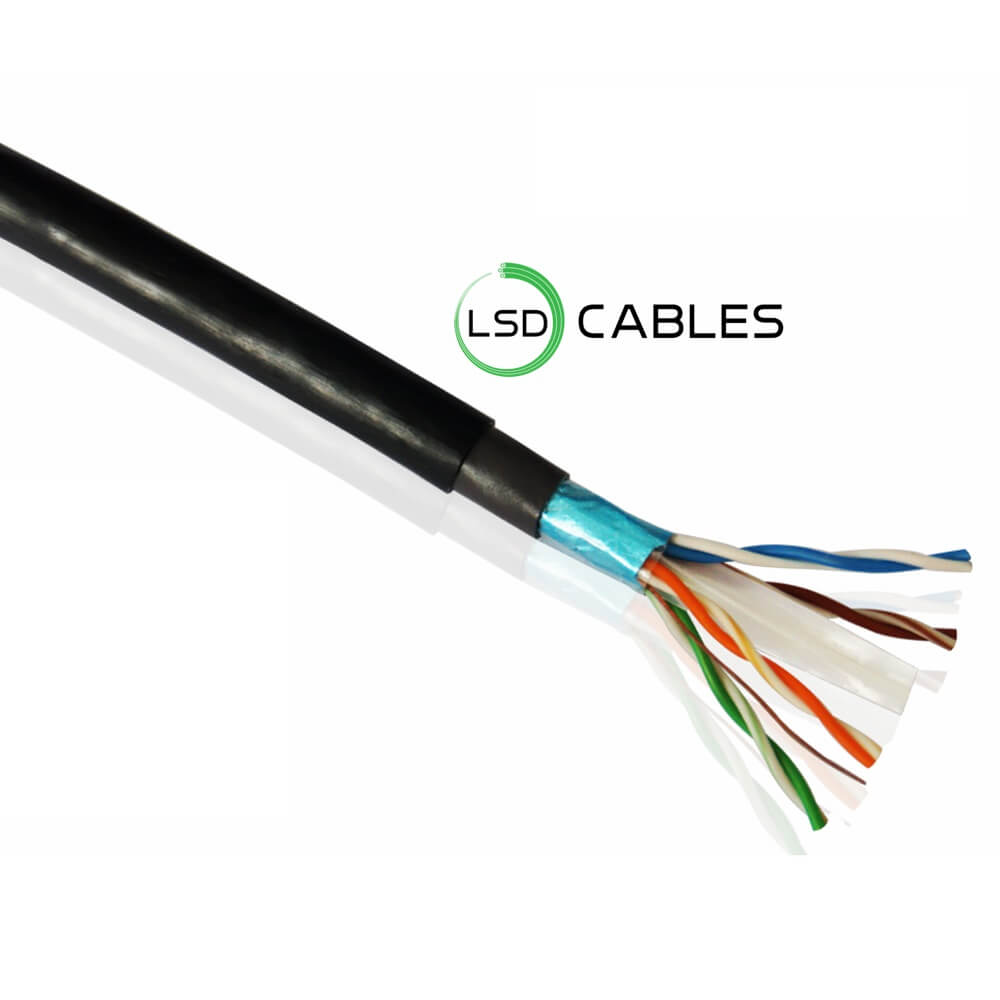 LSDCABLES CAT6 FTP CABLE OUTDOOR L 605 1 - Cat6 FTP Outdoor Cable L-605