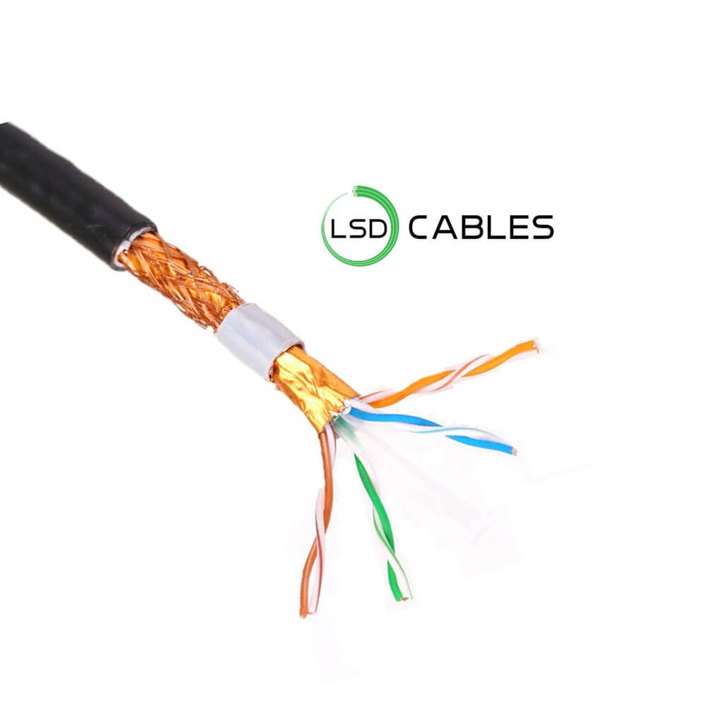LSDCABLES CAT6 SFTP CABLE OUTDOOR L 606 1 - Cat6 SFTP Outdoor Cable L-606