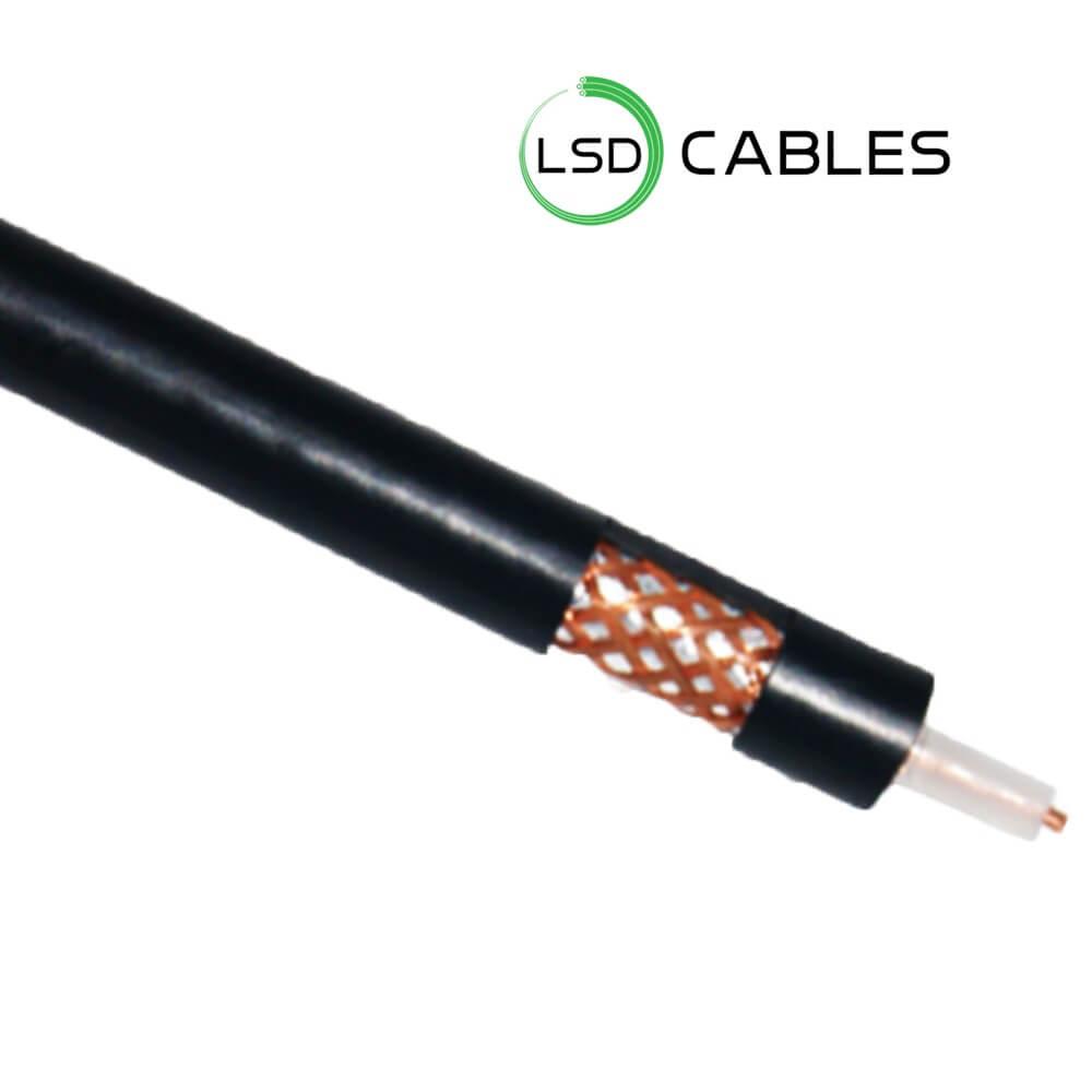 LSDCABLES Coaxial Cable RG59 L C01 - RG6 Coaxial Cable L-C02